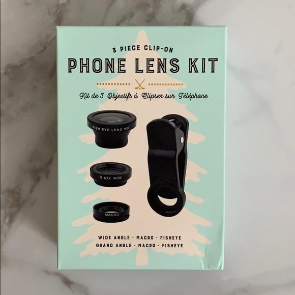 3 piece phone Lens kit
